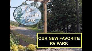 Pine Cradle Lake Campġround Rome Pennsylvania