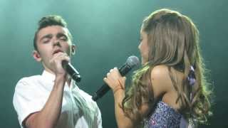 Ariana Grande - Almost Is Never Enough  Ft. Nathan Sykes  - Chicago 8/29/13