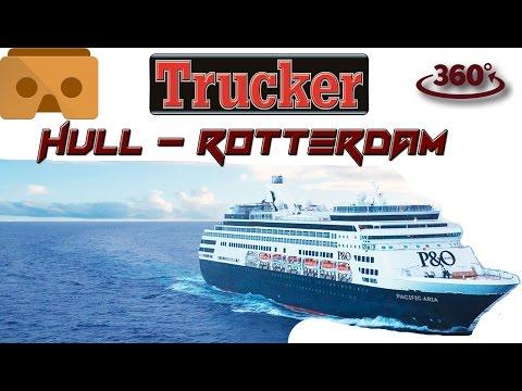 148.Rotterdam-Hull Hajó/Ship 360 fokban