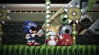 WHAT!??? DID EXELLER JUST KILL TAILS LIKE THAT??? Sonic.exe: The Spirits Of Hell
