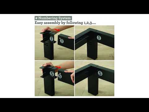 Zinus Modern Studio 14 Inch Platform 1500 Metal Bed Frame / Mattress Foundation / no Bo...