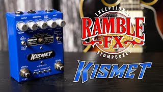 Ramble FX - Kismet (3 Guitar's) Pedal Demo