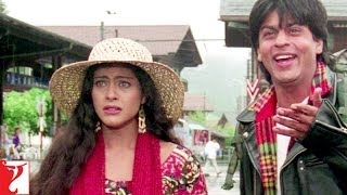 Raj Ashamed - Comedy Scene | Shah Rukh Khan | Kajol