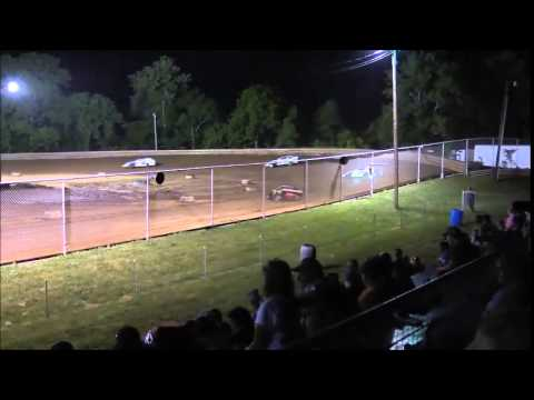 AMRA Modified Heat #3 from Ohio Valley Speedway 5/30/15.