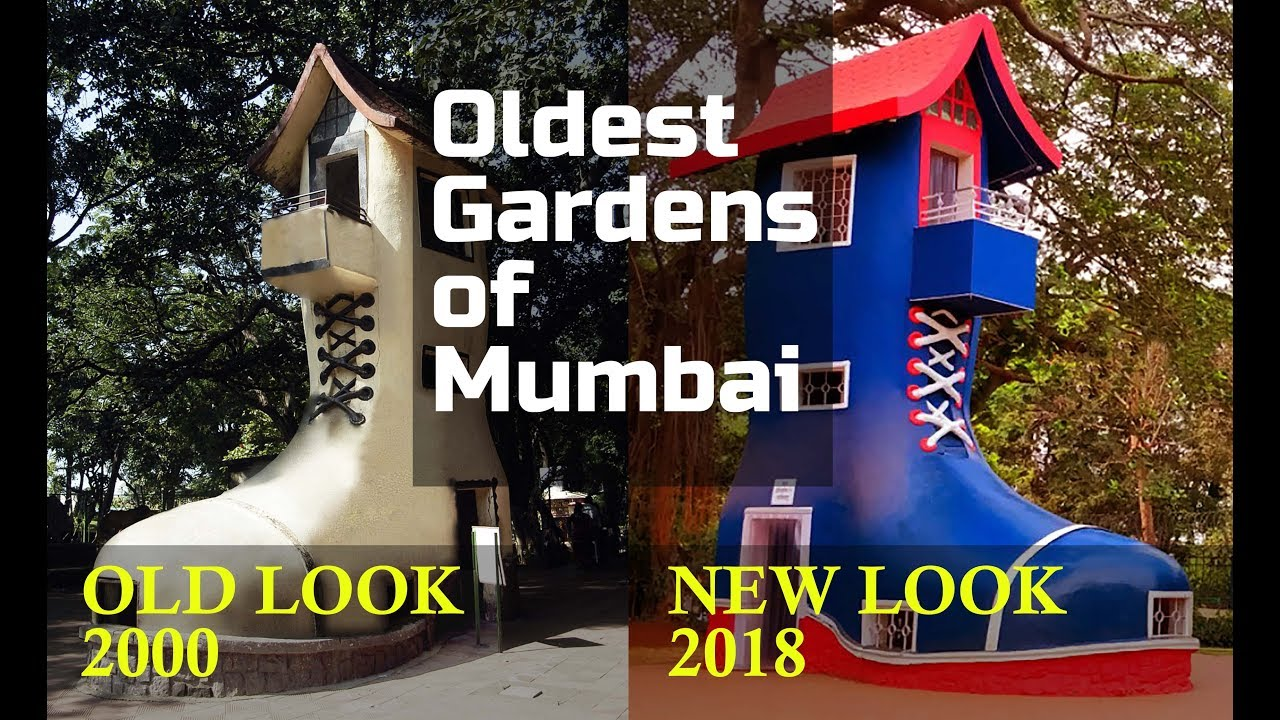 Oldest Gardens of Mumbai - Hanging garden/Kamala Nehru Park - YouTube