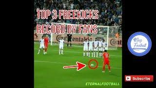 Baixar Top 3 awesome freekicks record by fans -  9gagFootball