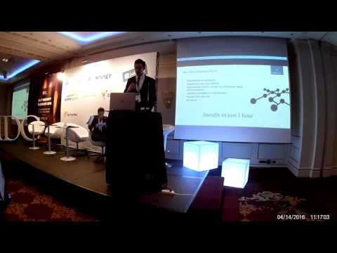 2 - Prezentare Safetech / Darktrace (partener Safetech) la IDC IT Security Roadshow, Bucharest