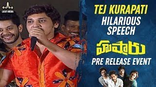 Download lagu Tej Kurapati Superb Entertaining Speech | Hushaaru Pre Release Event | Rahul Ramakrishna | Tejus