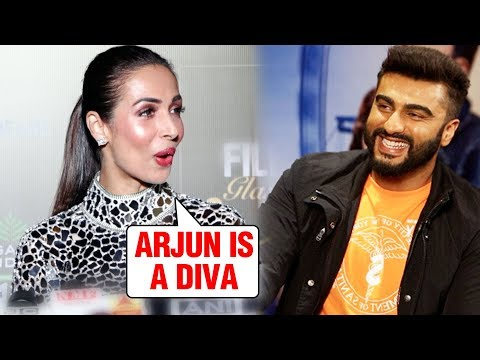 Malaika Arora TEASES Arjun Kapoor, Calls Him A Diva At Filmfare Glamour And Style Awards 2019 Mp3