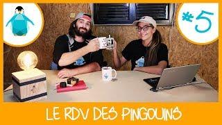 [Live] Dégoutés de l'autoconstruction, écrire un livre et stikers Pingouin - RDV Pingouins #5