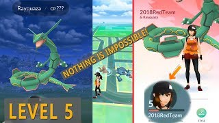 Level 5 Catching Rayquaza and more gen rare gen 3 Pokemon!