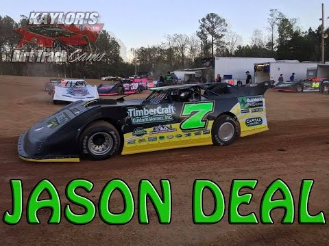 Jason Deal #7 Crate Late Model Front and Rear Cams North Georgia Speedway 4-8-2017