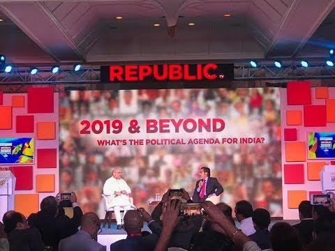 Shri Amit Shah's address at Republic Summit - Surging India in Mumbai | 19 December 2018