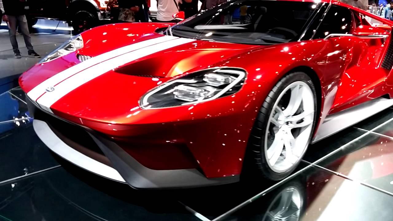 Ford Gt  At Dubai International Motor Show