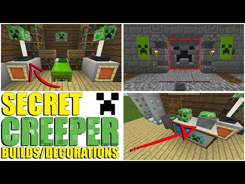 SECRET Creeper Builds You Can Make In Minecraft