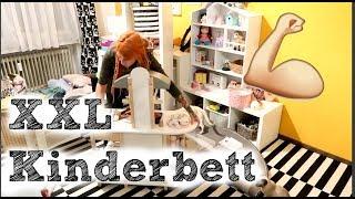 Tagespflege & Kinderzimmer umräumen XXL | Julies neues Bett bauen | VLOG#147