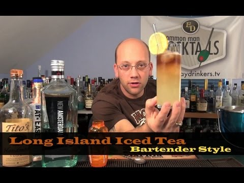 how ro make a long island iced tea