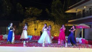 Video Dance performance on Drama queen and girls like to swing | Sangeet | bollywood mashup download MP3, 3GP, MP4, WEBM, AVI, FLV September 2018
