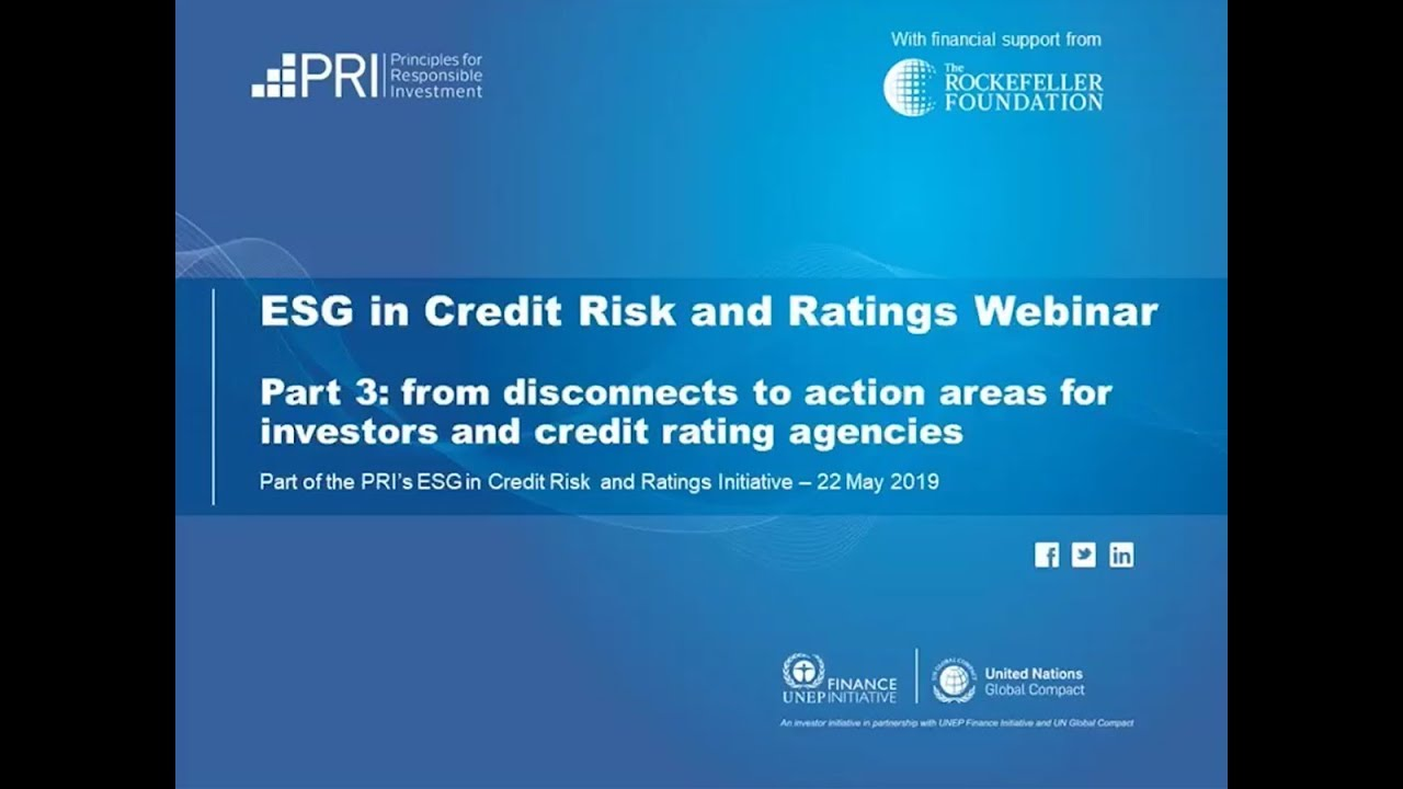 PRI | Credit ratings