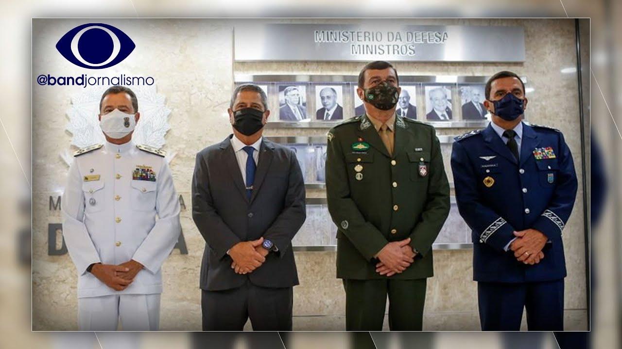 Forças Armadas: novos comandantes se reúnem com o presidente Bolsonaro