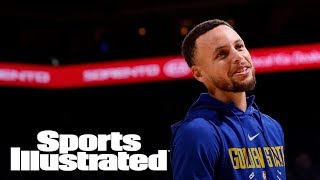 Warriors' Stephen Curry Planning On Return Friday After Ankle Injury | SI Wire | Sports Illustrated thumbnail