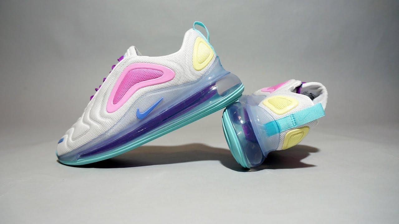Nike Air Max 720 White Light Aqua