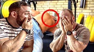 Bodybuilder reagieren auf Gym Fails!