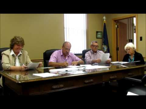 County Commissioners Meeting   -  Susquehanna County, Pa. - 10 -14 -15