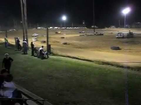 Mini Stock Race at Beebe Speedway 5/25/12 part 2