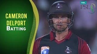 vuclip Match 15: Lahore Qalandars vs Peshawar Zalmi - Cameron Delport Batting