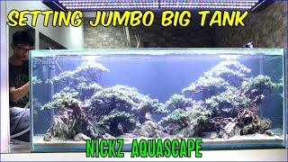 Setting Tank Besar 170cm All Bucephalandra Nickz Aquascape Youtube