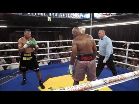 Didier Bence vs Avery Gibson ( Heavy weight / Poids Lourd )