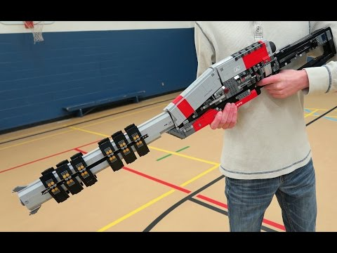 Destiny's best weapon lovingly recreated in Lego