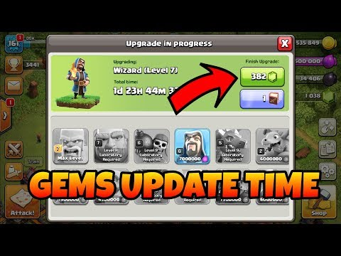 Time to use gems and max account clash of clans(hindi)sam1735