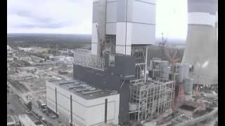 Budowa Elektrowni 858 MW w Bełchatowie w 1,5 minuty