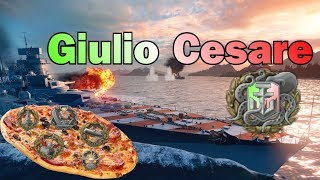 Julius Caesar good Ship ?? 160K DMG Kraken + 6 Medals || World of Warships