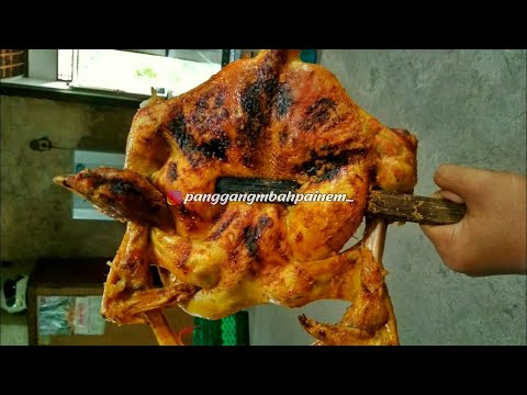 cara-membuat-ayam-panggang-(ayam-panggang-mbah-painem)