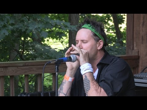 Jason Ricci's Master Harmonica Seminar at the Bean Blossom Blues Fest 2015