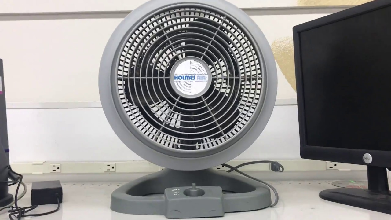 Holmes Air Desk/Table Fan (Quick Test)