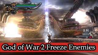 God of War 2 Freeze Enemies Hacked (Part 4)