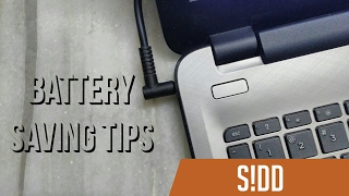 Windows 10 Battery Saving Tips!
