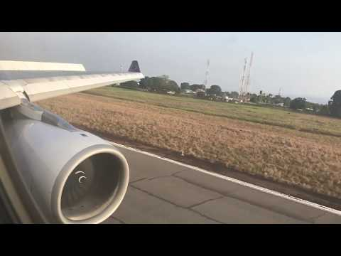Brussels Airlines A330-300 Evening Arrival into Freetown, Sierra Leone