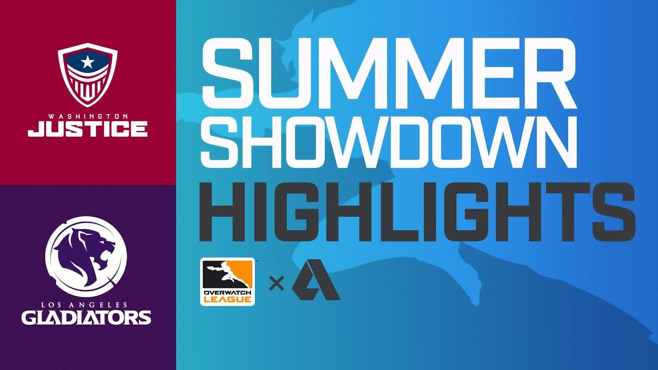 Akshon Highlights | Washington Justice vs Los Angeles Gladiators | Summer Showdown | NA Day 1