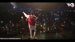 Mbosso live perfomance Nadekezwa  Nairobi/kenya