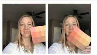 How To Do A Self Color Analysis With Color Analysis Cards