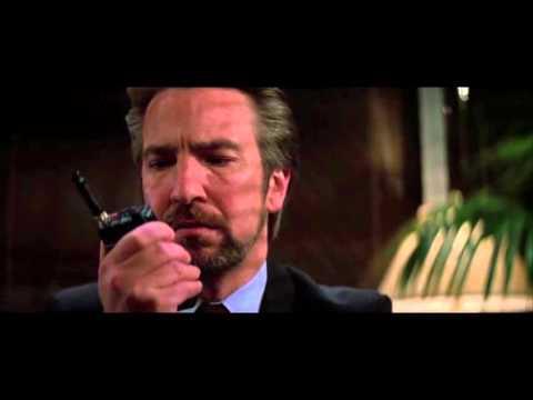 Favorite Scene of Alan Rickman from Die Hard