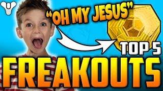 Curse Of Osiris Exotic FREAKOUT! - Destiny 2 - Top 5 Funny Reactions / Episode  37
