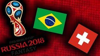 2018 RUSSIA FANTASY VB   BRAZILIA - SVÁJC
