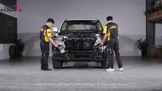 TUNINGOFF.RU -  фейслифт рестайлинг переделка Toyota Land Cruiser 200 в 2016 год.