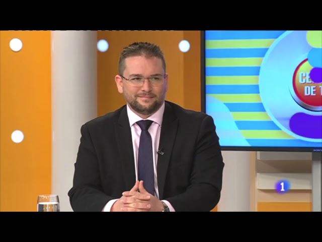 Entrevista en Certa de Ti con Roberto Herrera en TVE Canarias